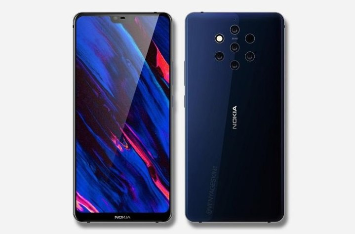 Soon We Will Meet New Smartphone Nokia with 5 Cameras
