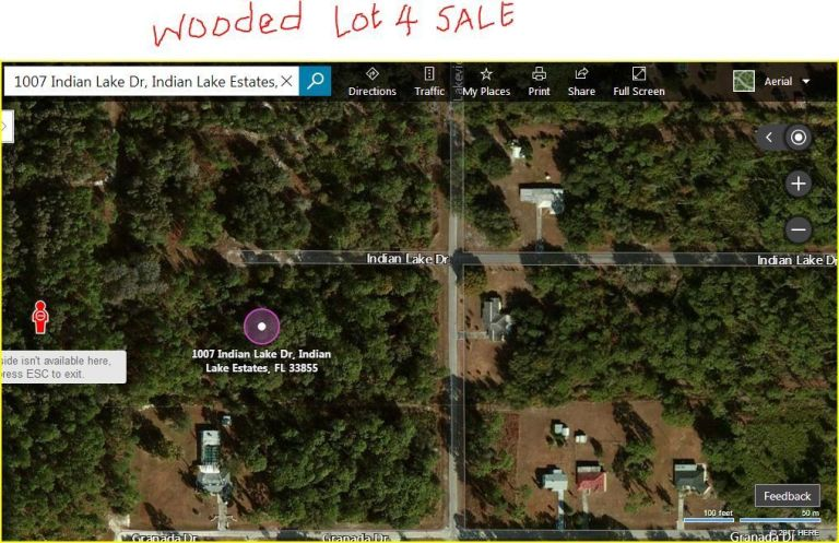 NO RESERVE!! Florida Land for Sale. Indian Lake Estate Lot! 5