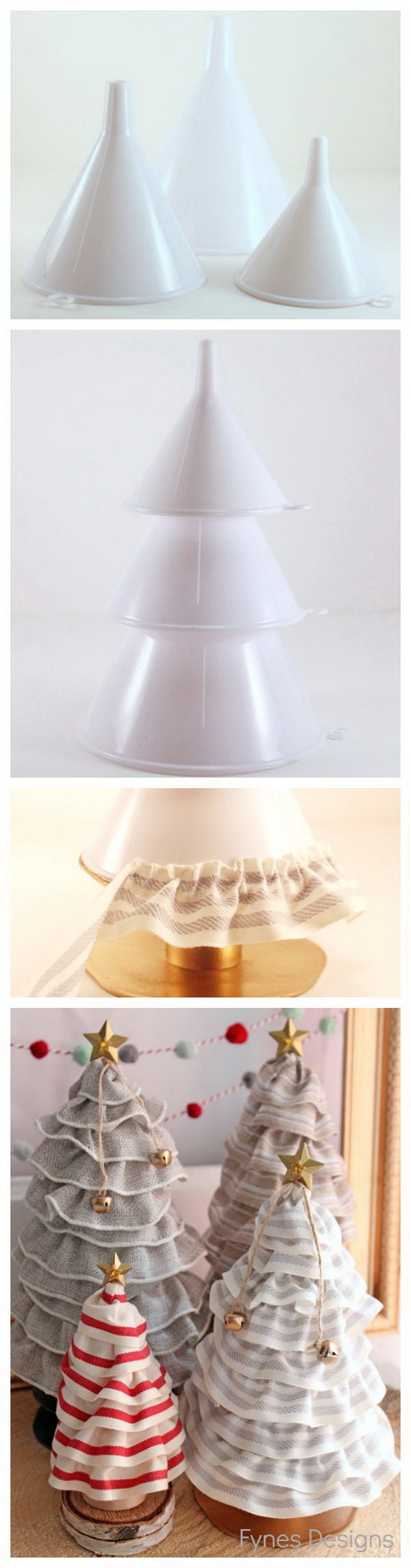 DIY Christmas Tree Cone.