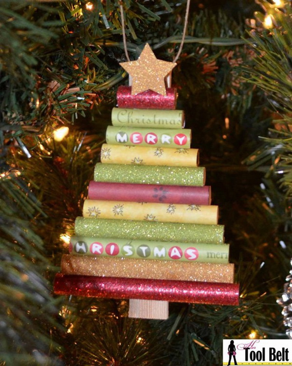 homemade paper christmas ornaments make this beautiful and fun paper christmas ornament with your family - Christmas Decoration Ideas To Make