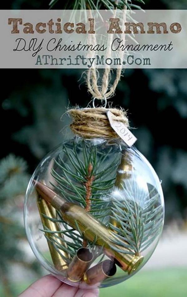 20+ DIY Christmas Ornament Tutorials & Ideas - For Creative Juice