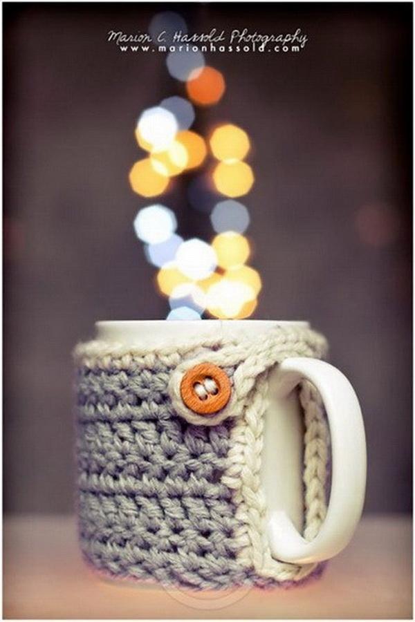 Marion's Cozy Mug Warmer.