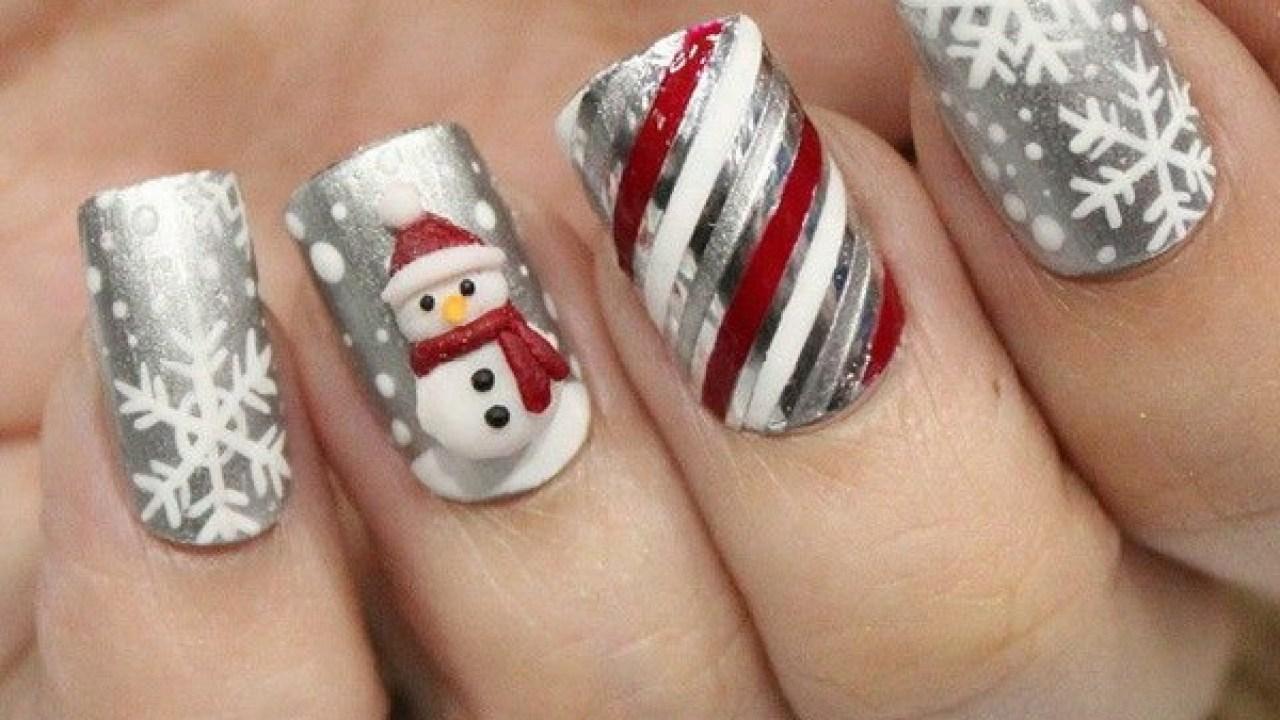25 Inspirational Winter Nail Art Ideas For Creative Juice