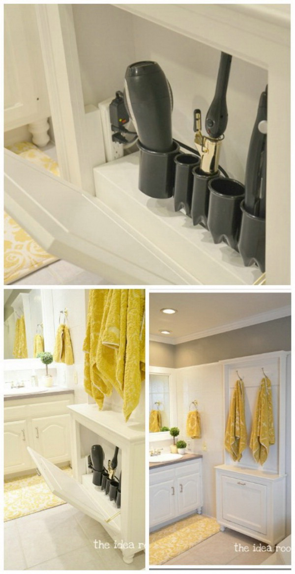 Clever Diy Bathroom Storage Amp Organization Ideas For