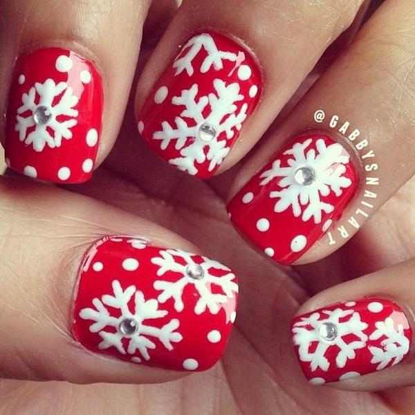 25 Inspirational Winter Nail Art Ideas , For Creative Juice