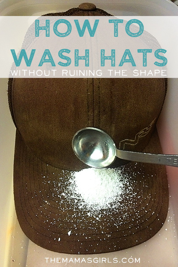 How to Wash Hats Without Jeopardizing The Shape: Instead of putting your hats directly in the washing machine, you can wash your baseball caps without ruining their shape using these directions.