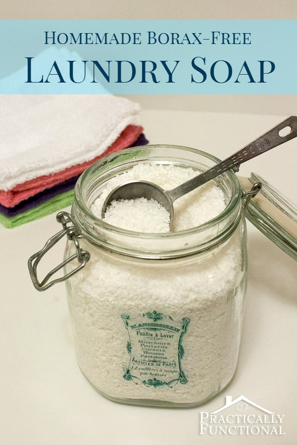 Ditch the Chemicals and DIY Your Own Laundry Detergent.
