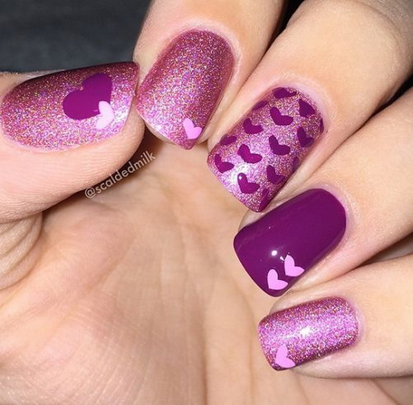 30 Chosen Purple Nail Art Designs For Creative Juice