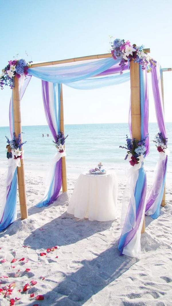Beach Wedding Arch Decor