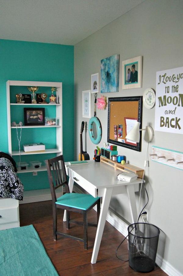 40+ Beautiful Teenage Girls' Bedroom Designs - For ... on Beautiful Room Design For Girl  id=82774