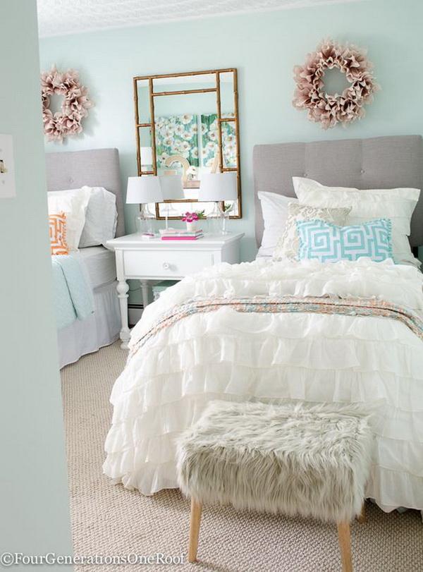 40+ Beautiful Teenage Girls' Bedroom Designs - For ... on Beautiful Rooms For Girls Teenagers  id=20860