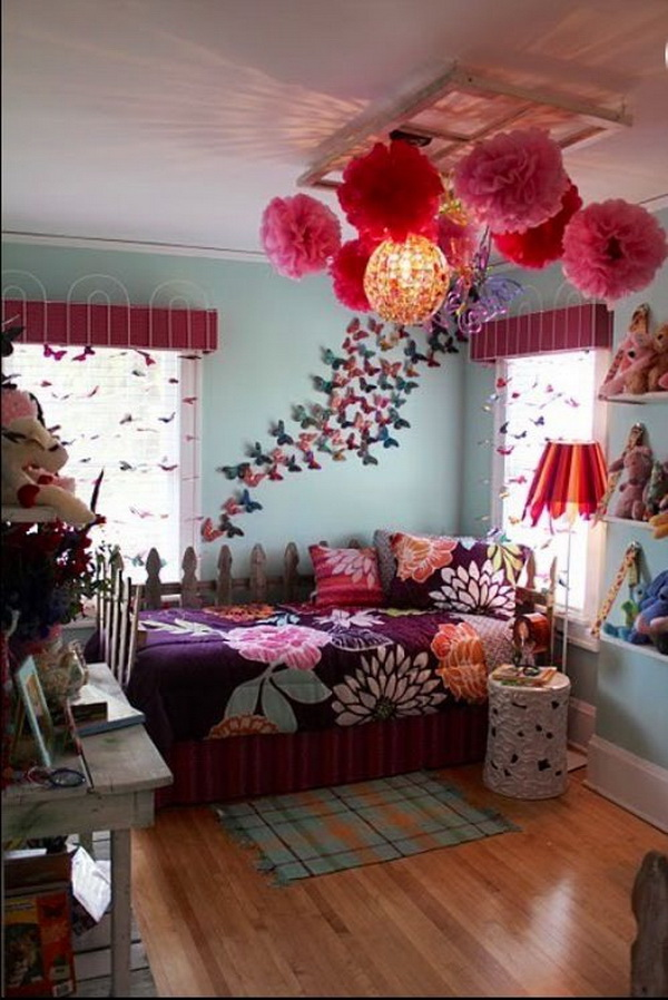 40+ Beautiful Teenage Girls' Bedroom Designs - For ... on Beautiful Rooms For Teenage Girls  id=26010
