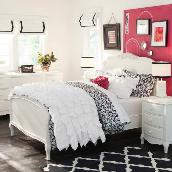 40+ Beautiful Teenage Girls' Bedroom Designs - For ... on Beautiful Rooms For Teenage Girls  id=78785