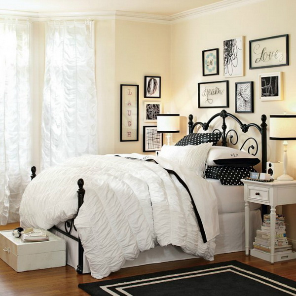 40+ Beautiful Teenage Girls' Bedroom Designs - For ... on Beautiful Room For Girls  id=46734
