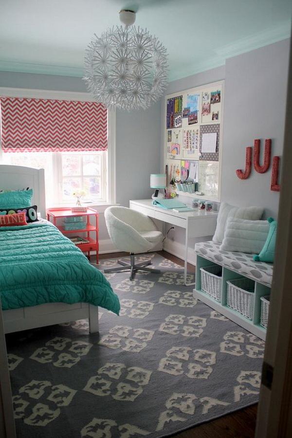 40+ Beautiful Teenage Girls' Bedroom Designs - For ... on Beautiful Room For Girls  id=27086