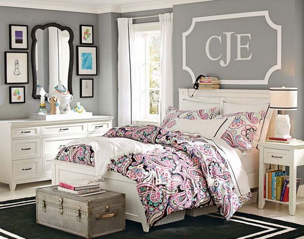 40+ Beautiful Teenage Girls' Bedroom Designs - For ... on Teenage Bedroom Ideas  id=88792