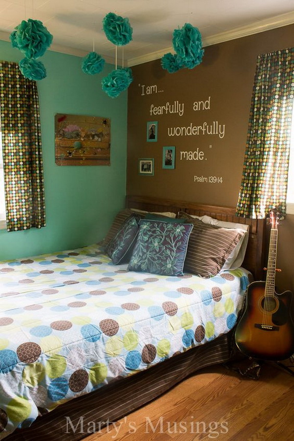 40+ Beautiful Teenage Girls' Bedroom Designs - For ... on Beautiful Room Design For Girl  id=80721