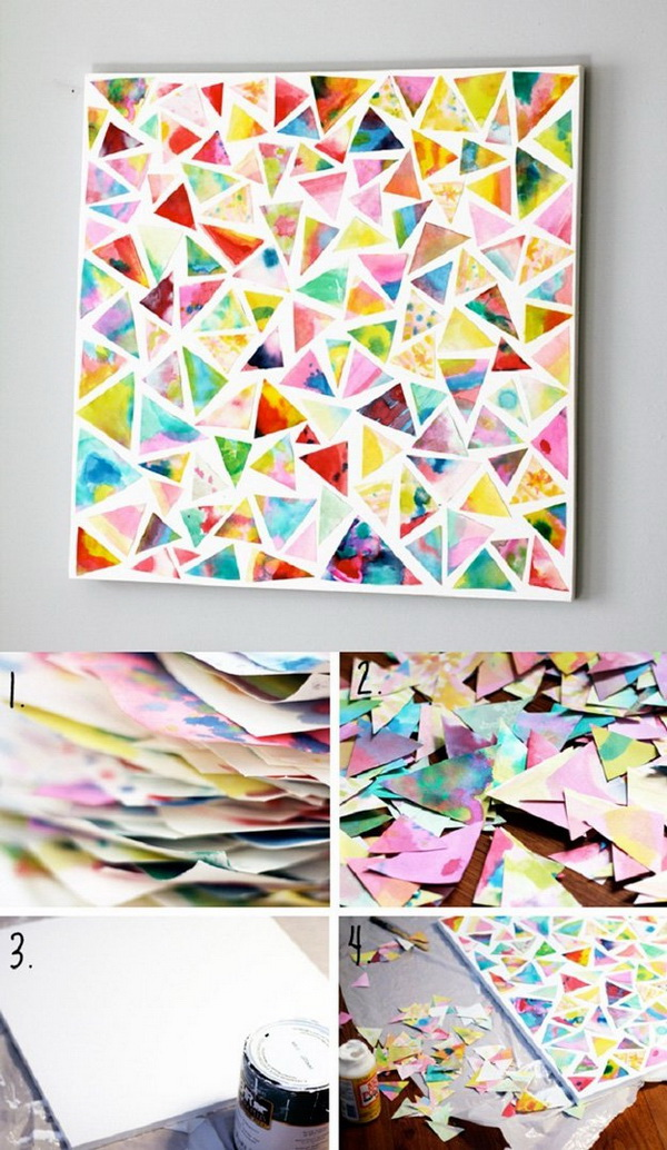 Blukatkraft Diy Quick Easy Wall Art For Bathroom: 25+ Stunning DIY Wall Art Ideas & Tutorials