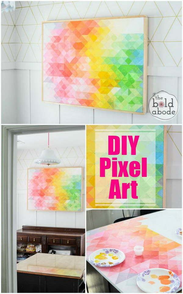 25+ Stunning DIY Wall Art Ideas & Tutorials - For Creative ...
