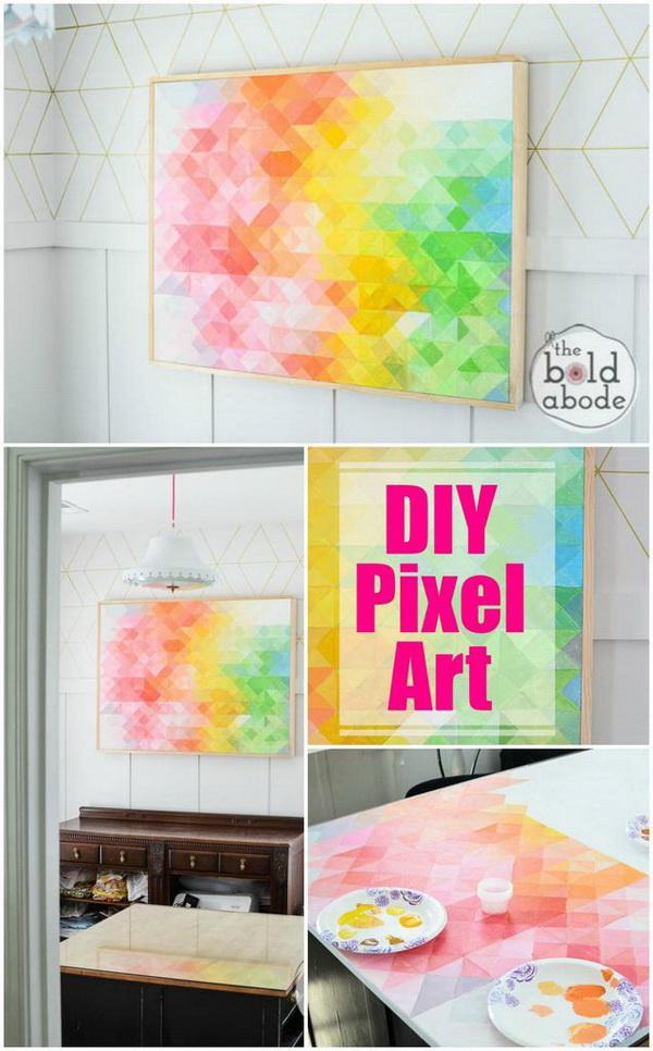 25 Stunning Diy Wall Art Ideas Amp Tutorials For Creative