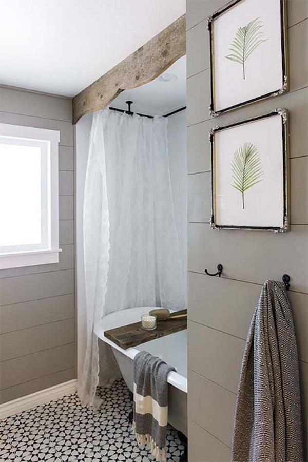 20+ Amazing Farmhouse Bathrooms with Rustic Warm - For ... on Rustic Farmhouse Farmhouse Bathroom  id=38081