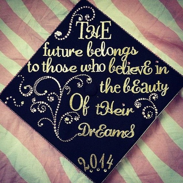 Creative graduation cap decoration ideas for