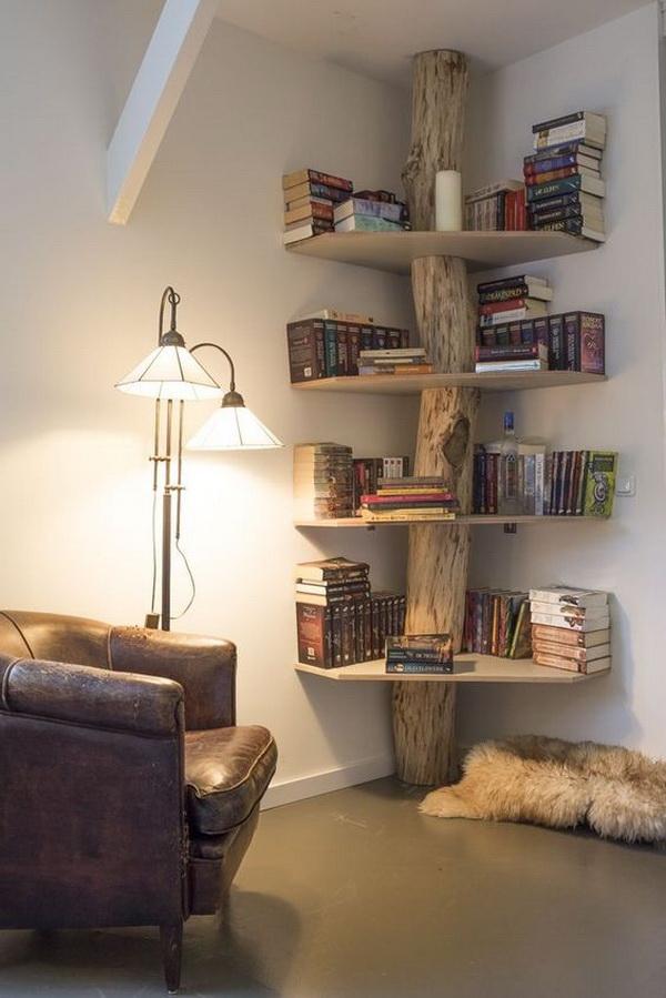 Tree Inspired Bookshelf.