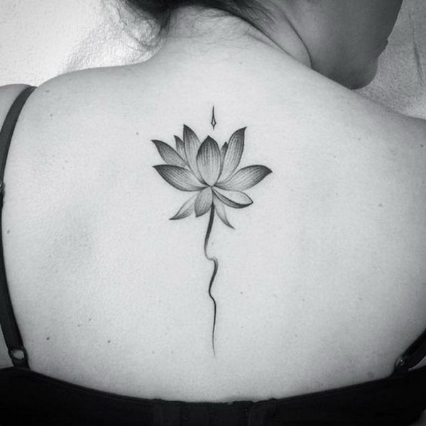 55 pretty lotus tattoo designs for creative juice lotus flower tattoo on back mightylinksfo