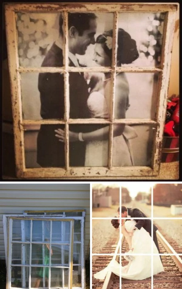 Old Window Picture Frame.