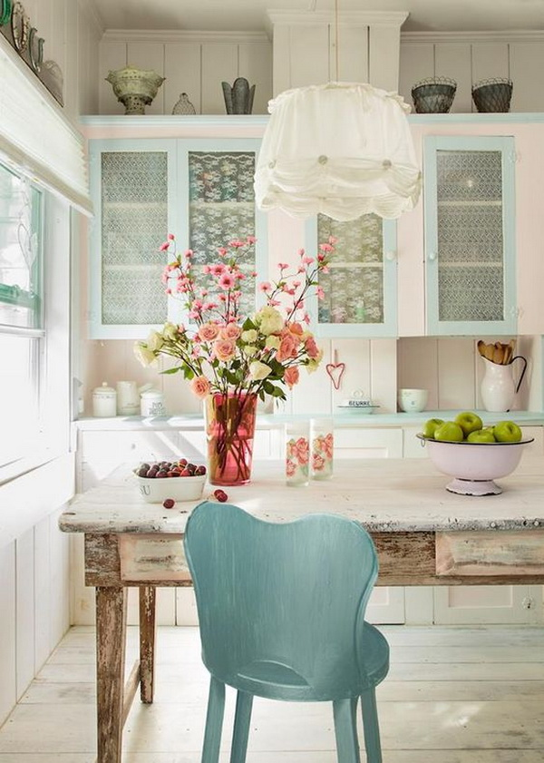 Soft Shabby Chic Kitchen