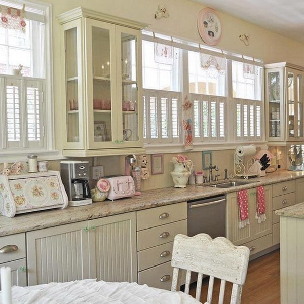 shabby chic kitchen decorating ideas 35 awesome shabby chic kitchen designs accessories and 25611