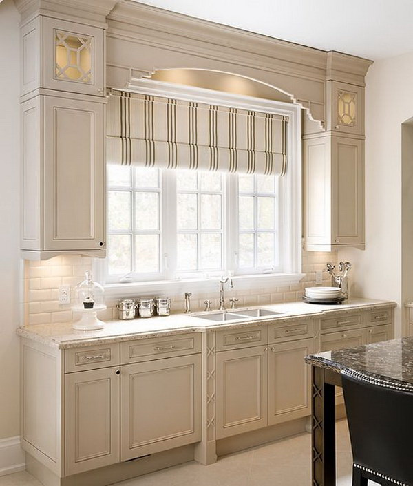 Beautiful Beige Kitchen Cabinet Paint Color Ideas