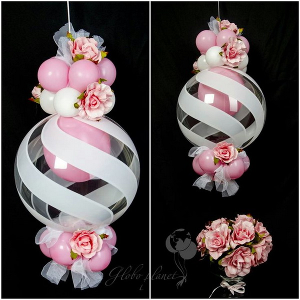 Beautiful Qualatex Swirl Design Deco Balloons & 50+ Pretty Balloon Decoration Ideas - For Creative Juice