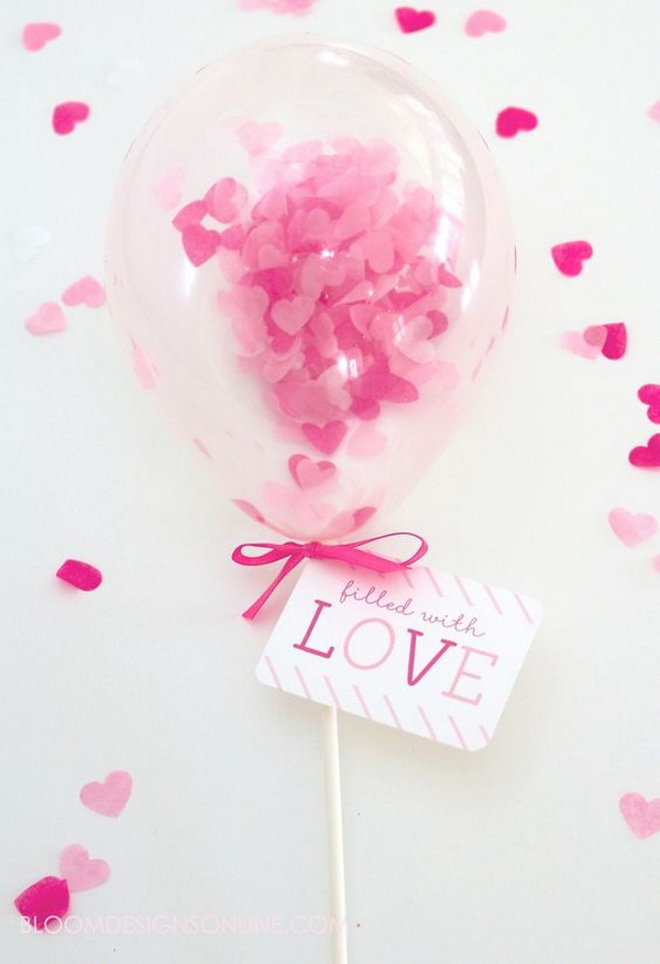 Filled With Love Mini Balloon Wands.