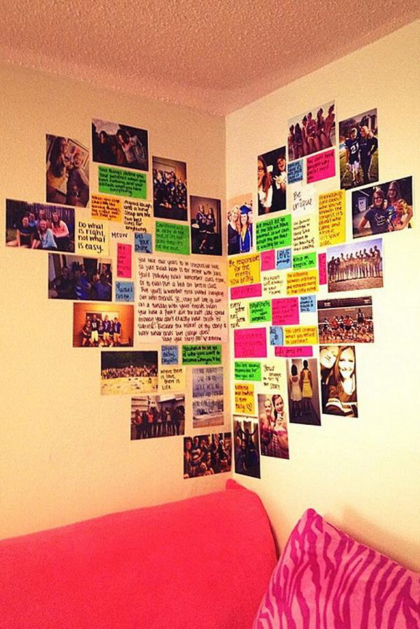 Cool DIY Ideas & Tutorials for Teenage Girls' Bedroom ... on Teenage Room Decor Ideas Girl  id=45765