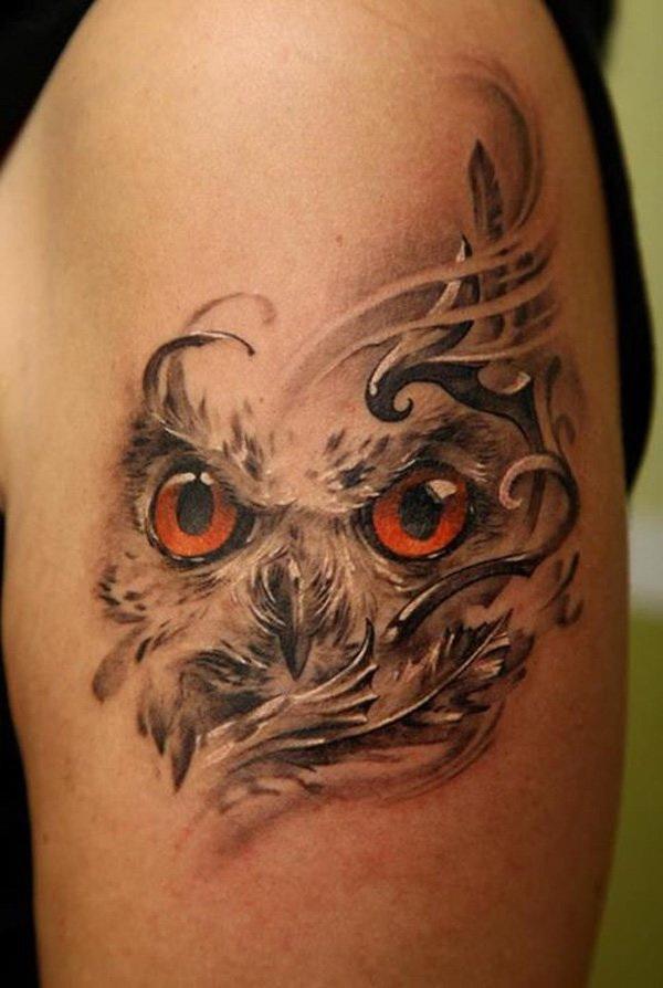 More via https://forcreativejuice.com/attractive-owl-tattoo-ideas/