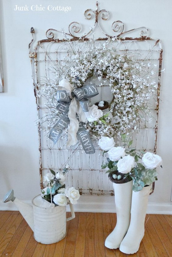 25 Pretty Shabby Chic Decoration Ideas For Creative Juice