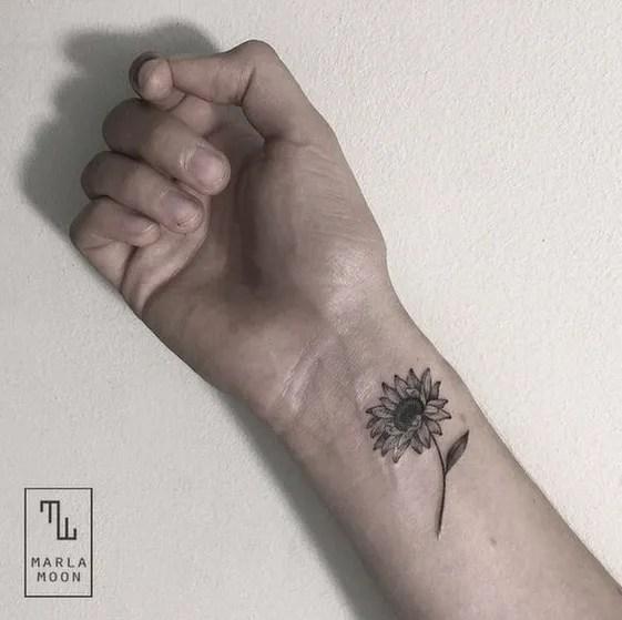 50 Amazing Sunflower Tattoo Ideas For Creative Juice