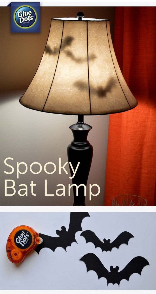 spooky bat lamp make your home a little extra spooky and add a fun addition