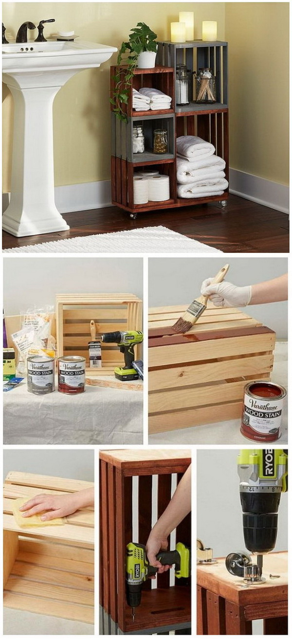 Build These Amazing Wood Crate Projects For Your Home For Creative Juice