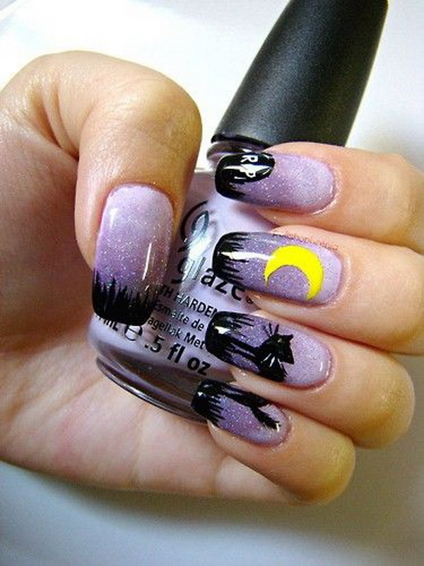 Halloween Nail Art Ideas.