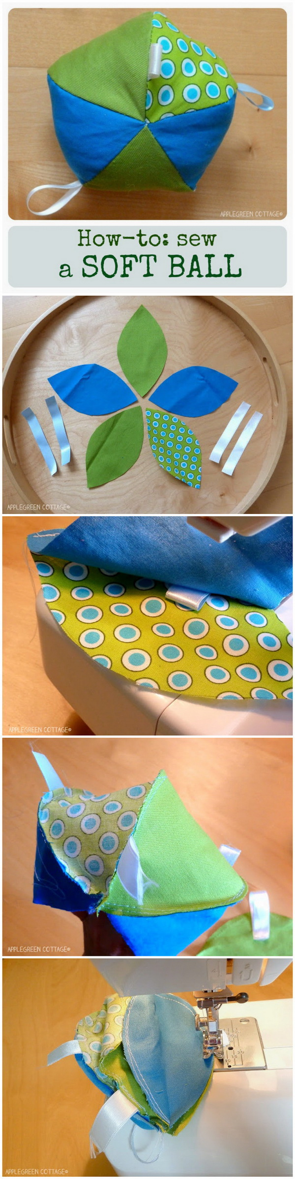 Sew a Soft Ball. These easy to sew soft balls are an all-time favorite with babies and always turned out to be a great personal gift.