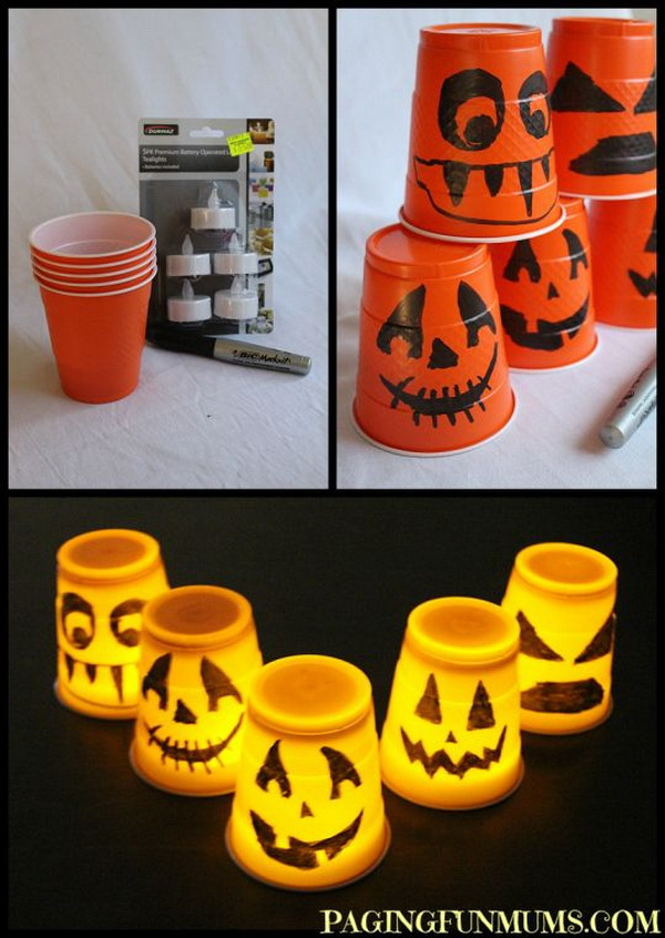 25 Easy and Fun DIY Halloween Crafts Even Kids Can Make - For ...