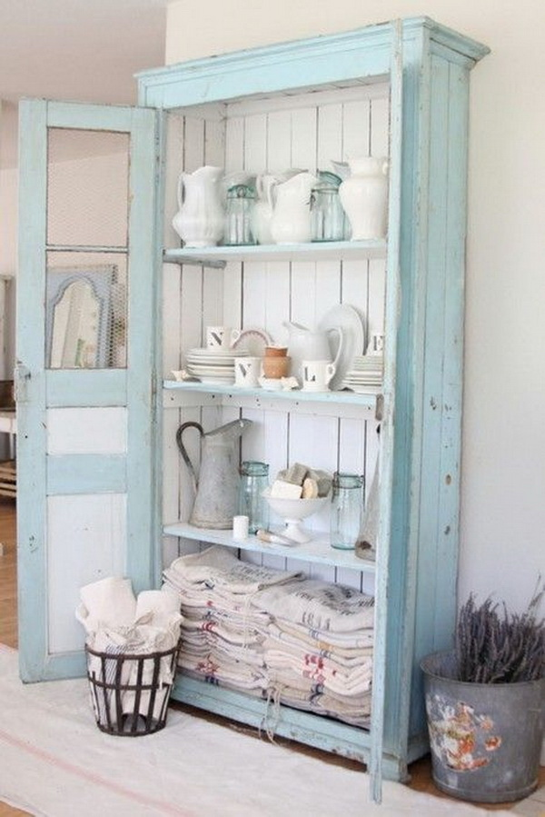 Delightful Shabby Chic Bookcases