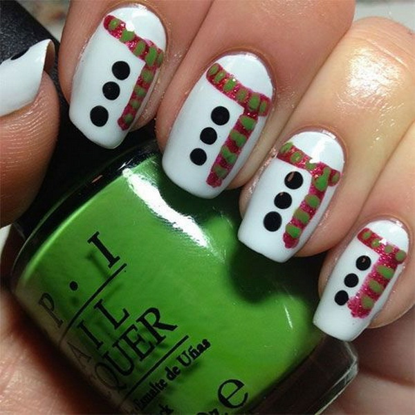 Christmas Nail Art Designs.