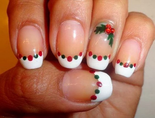 70 festive christmas nail art ideas for creative juice christmas diy nail art design prinsesfo Image collections