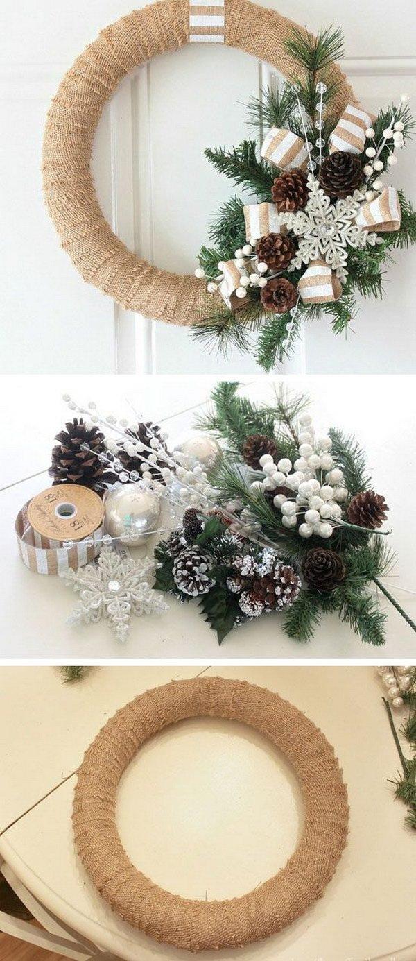 45 Cool DIY Rustic Christmas Decoration Ideas & Tutorials