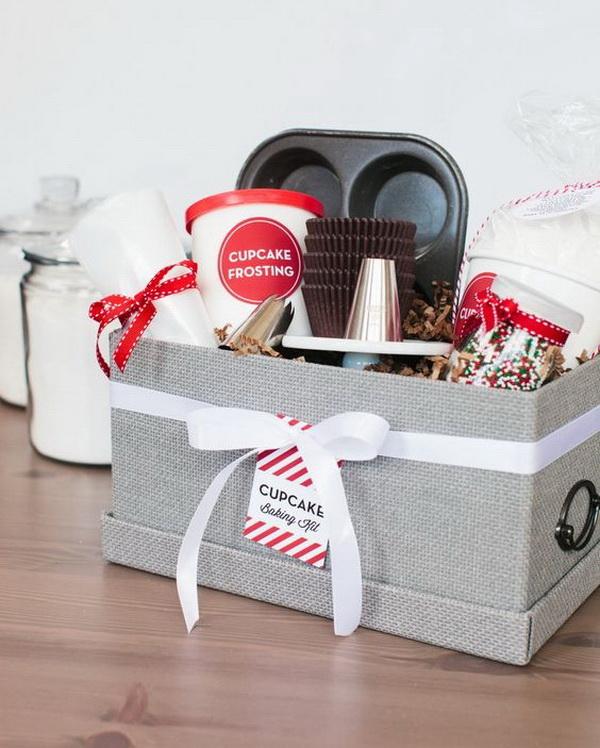 Holiday Cupcake Baking Kit.