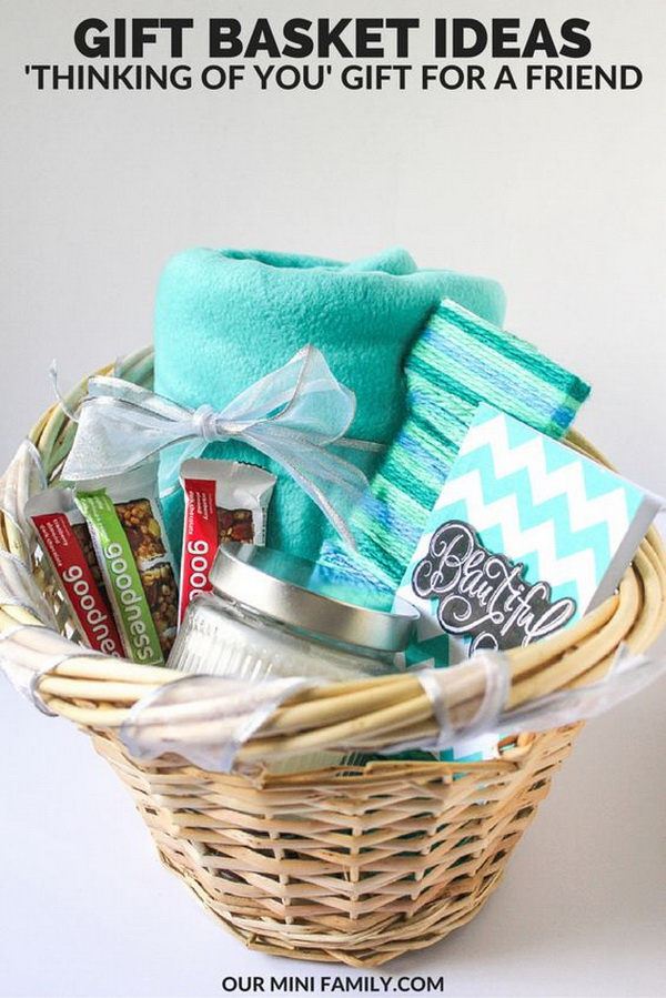 45 Creative Diy Gift Basket Ideas For Christmas For
