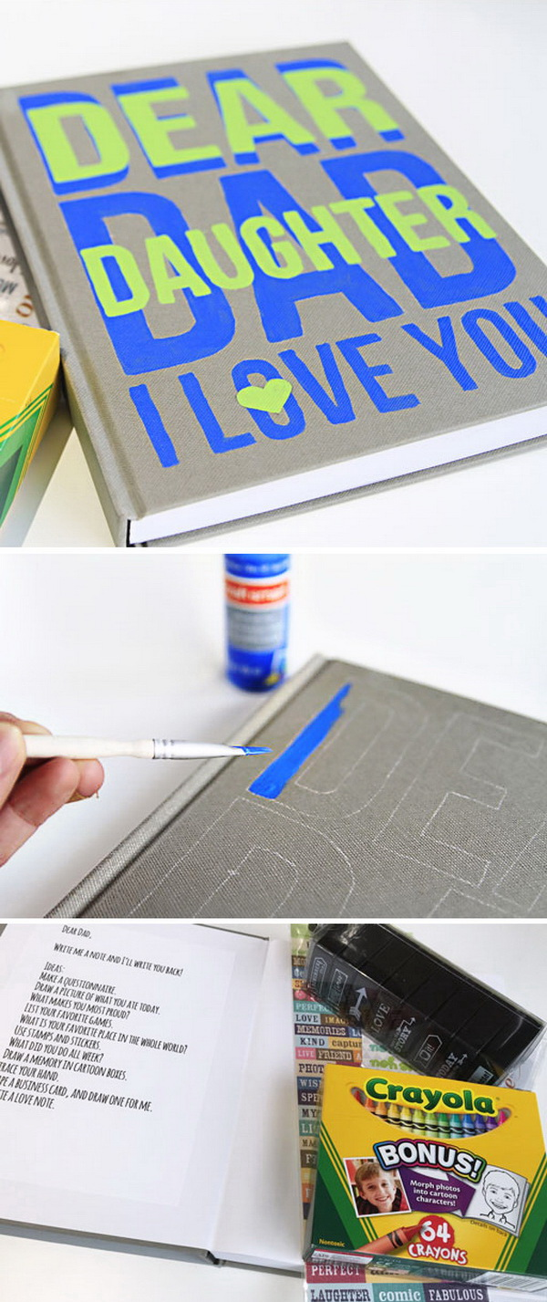 25 great diy gift ideas for dad this holiday for for Creative gifts for dad from daughter